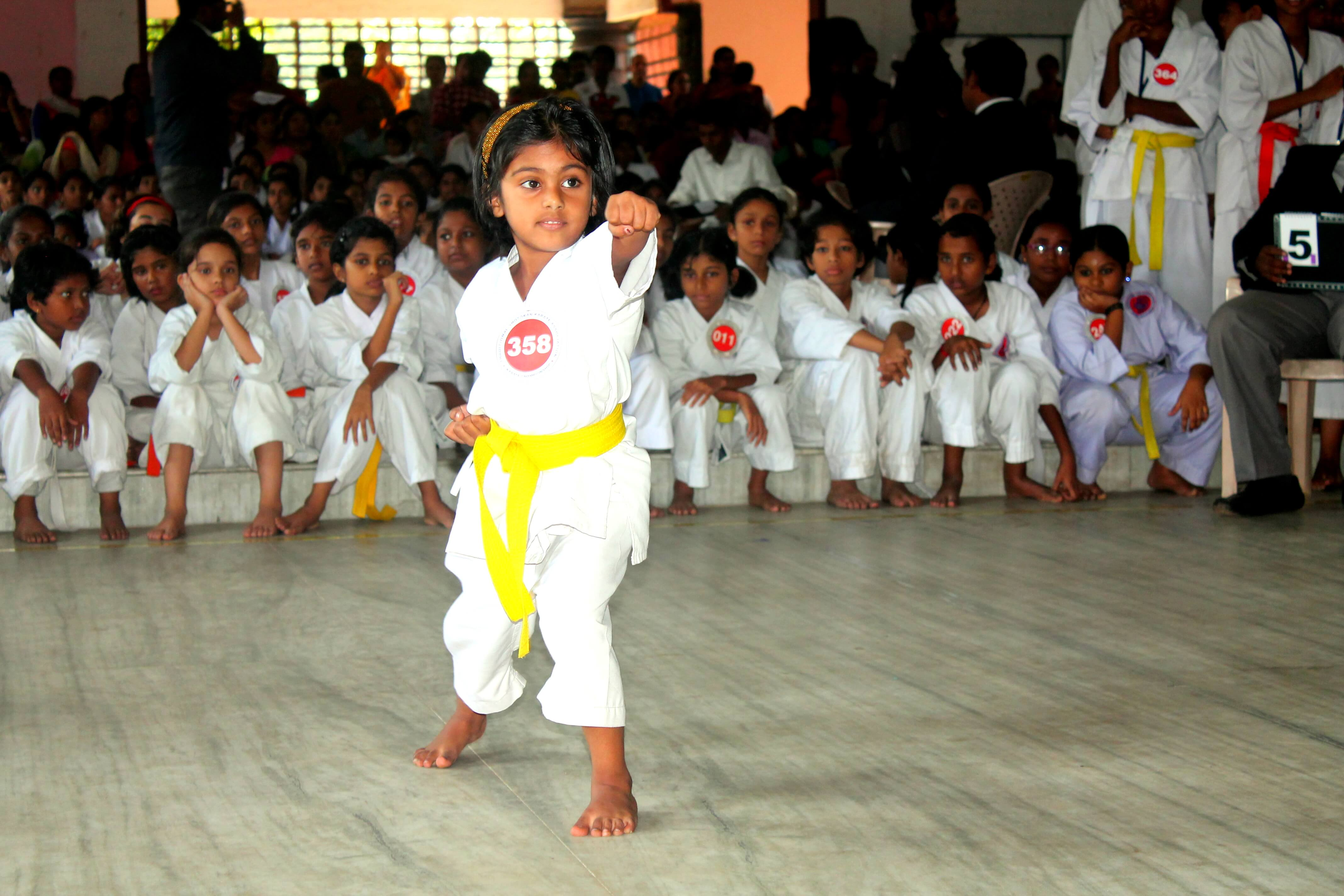 Vaigha, Kata Champion - Below 2nd Std Girls