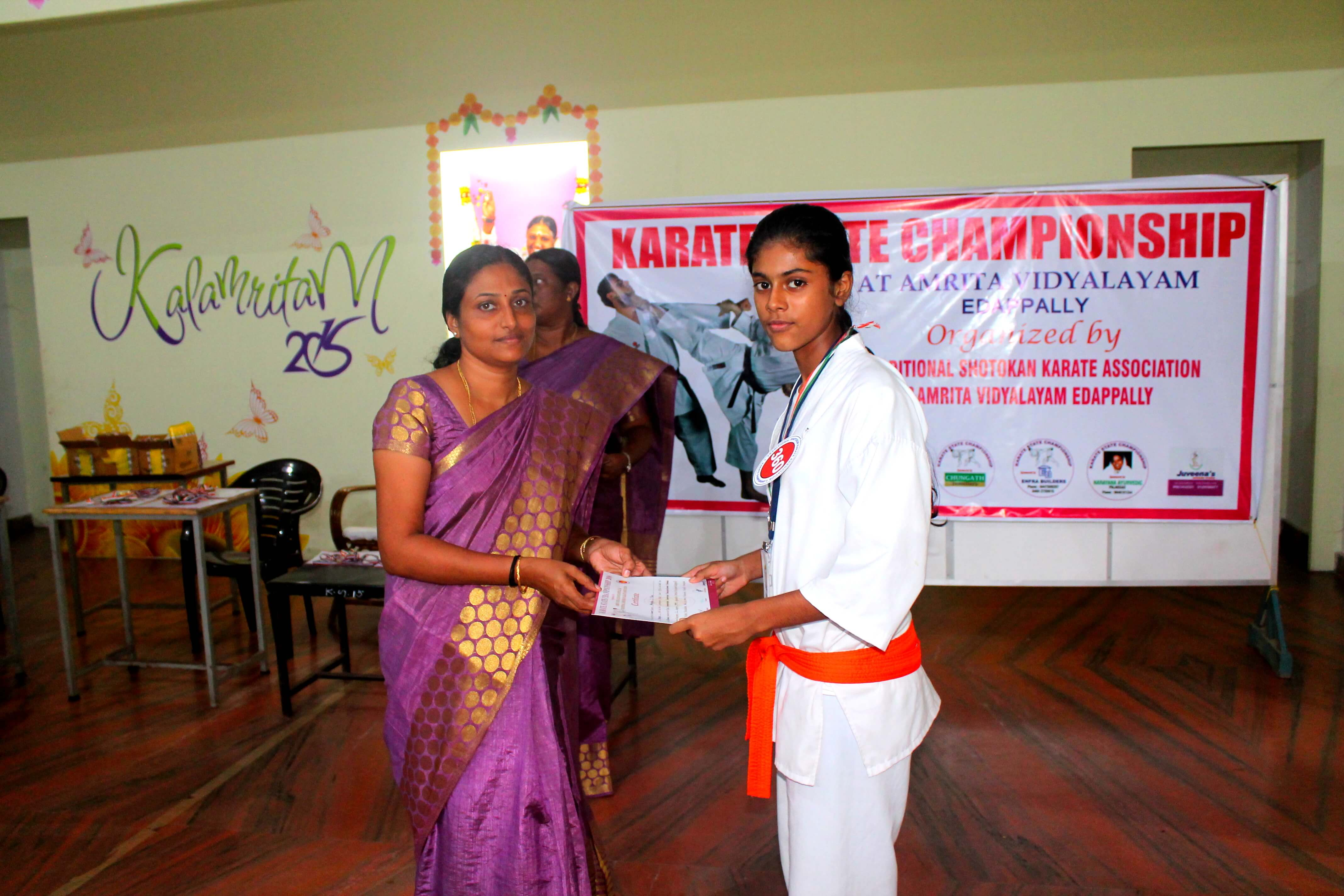 Anagha S Nair, Kata Second - Senior Girls