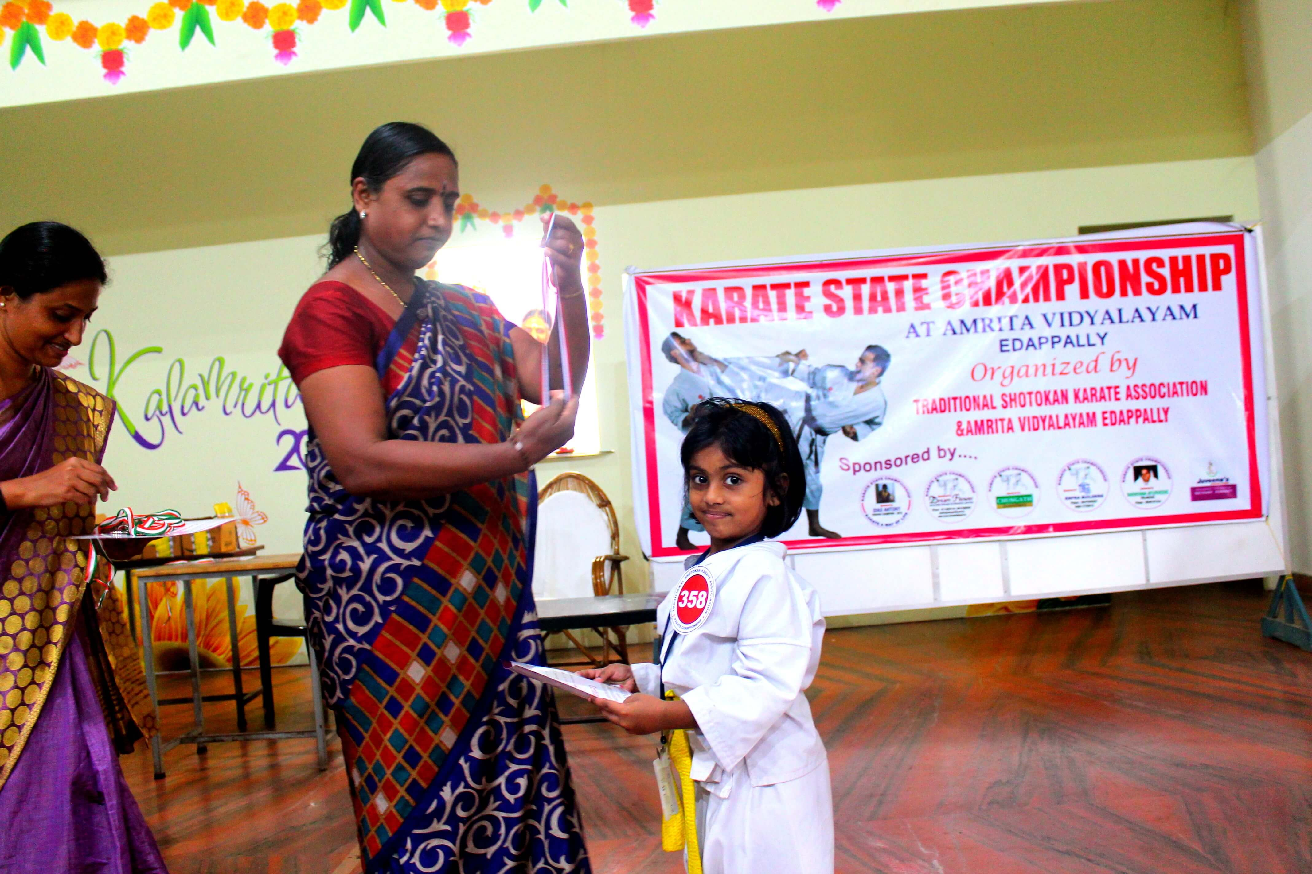 Gold Medal Awarding to Vaigha