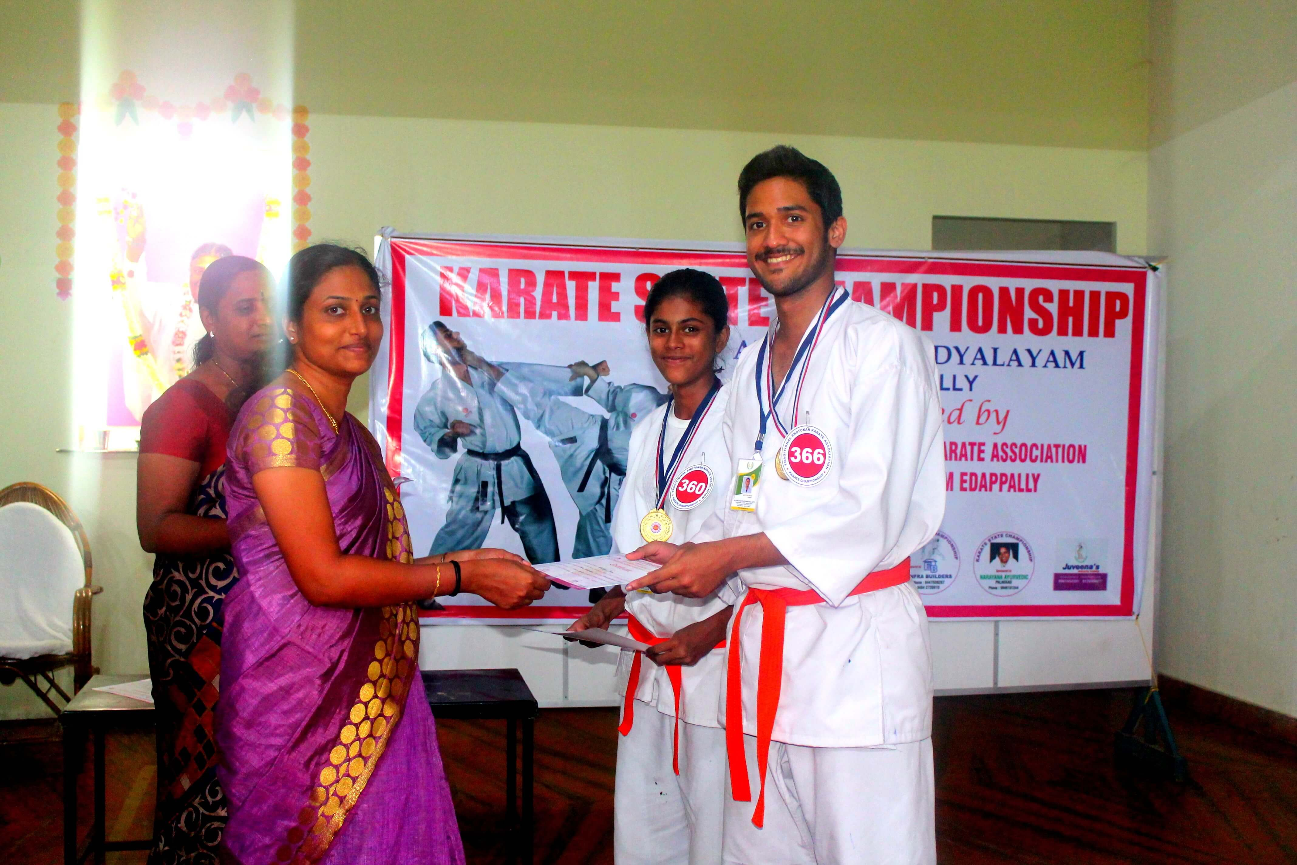 Gold Medal Awarding to Anagha & Adithya