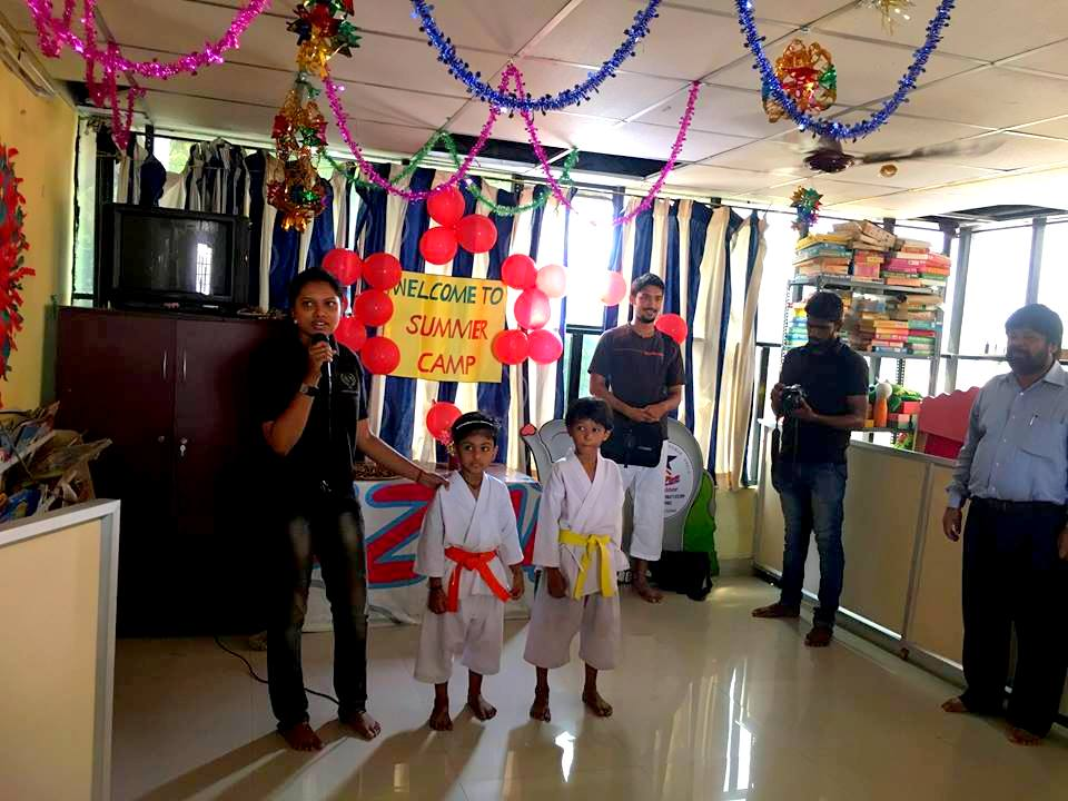 Summer Karate Camp for Kidzee Kaloor